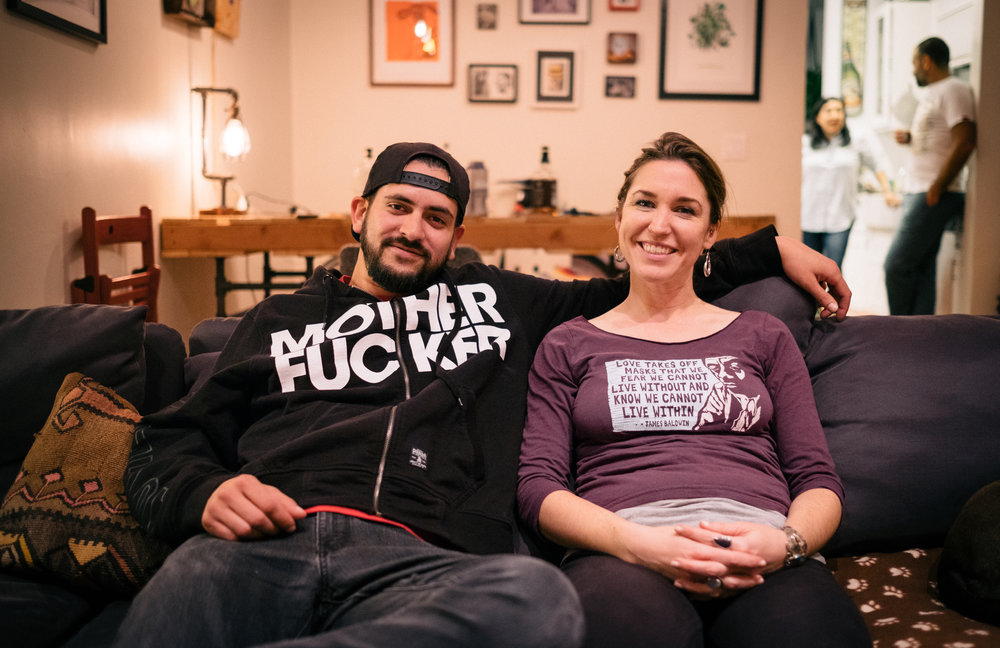 Clothing messages on point, and good company.