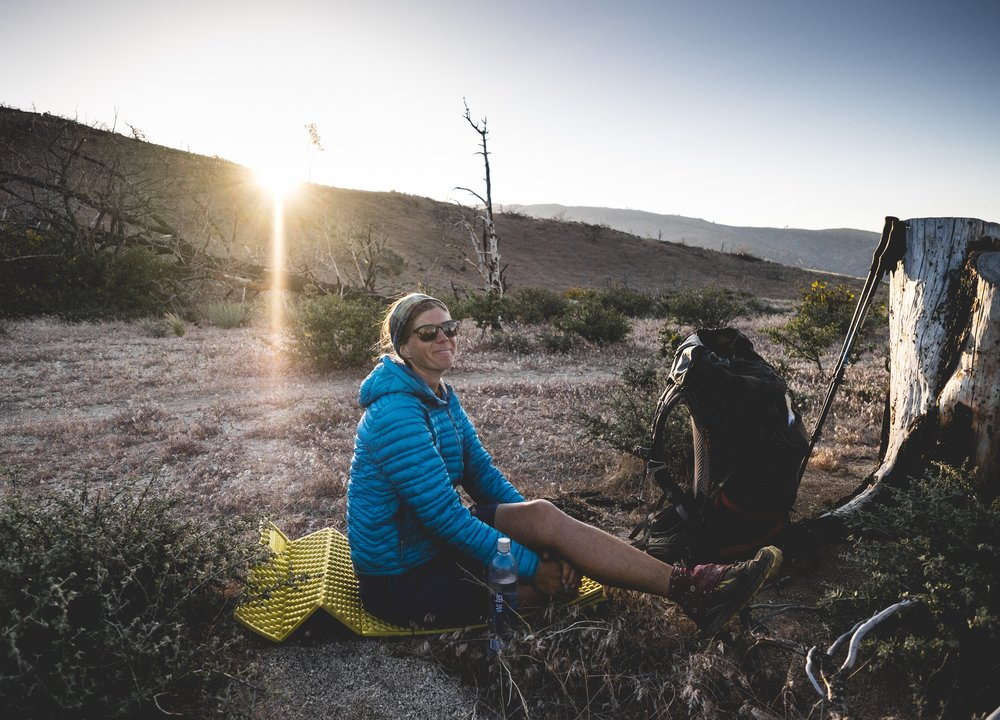 Smurfette and her boyfriend hit mile 2000 today. They started SOBO last year but had to jump off trail. They are finishing the desert section this year.