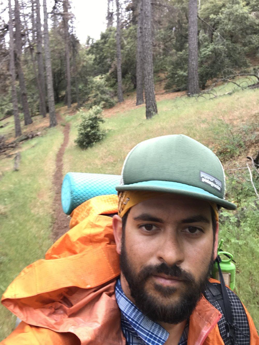 hiking in the rain isn't amazing