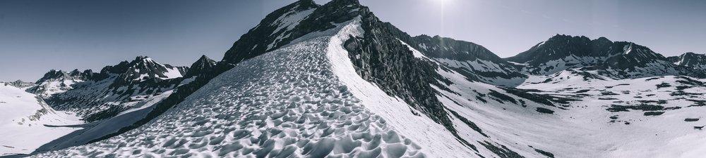Summit of Mather Pass