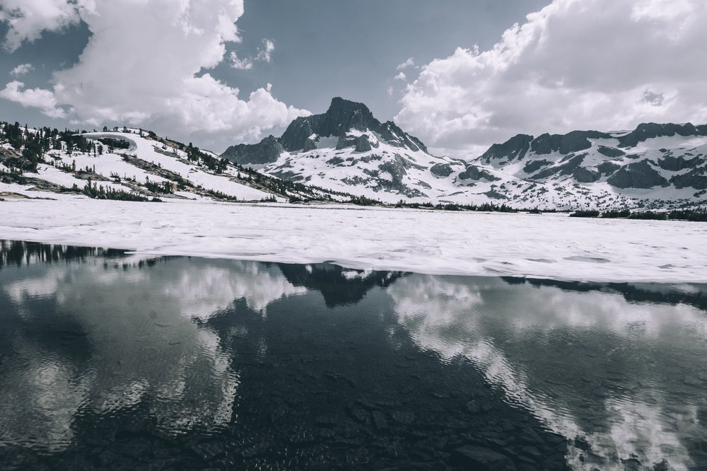 the last bit of frozen water