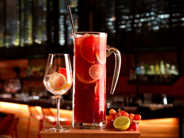 Red Sangria Jug