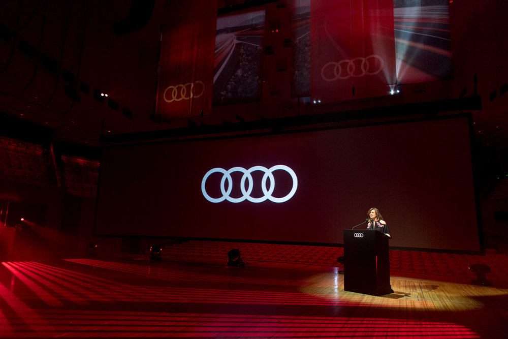 "Our atelier of experts curated a sensational evening of celebration for Audi Australia, to celebrate their Dealer Of The Year awards show. The evening took place at the Sydney Opera House which we transformed into an opulent and rich feast of the senses, catapulting guests into the world of ""Four Elements"". The awards show itself took place in the Concert Hall followed by dinner and dancing after with entertainment from Emma Louise, Furnace and The Fundamentals and Alice Q."