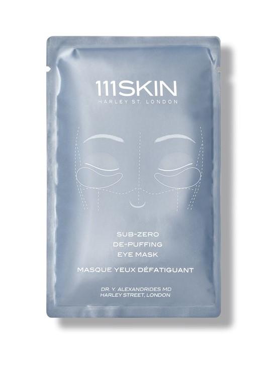 """Sub-Zero de-Puffing  Eye Mask  Este """"patch"""" de la marca inglesa  111skin  ilumina y desinflama los ojos hinchados por el cansancio, la humedad y las alergias. Pónganlo un rato antes de usarlo en la heladera y guárdenlo en el equipaje de mano antes de un largo viaje en avión.   https://111skin.com/sub-zero-de-puffing-eye-mask.html"""