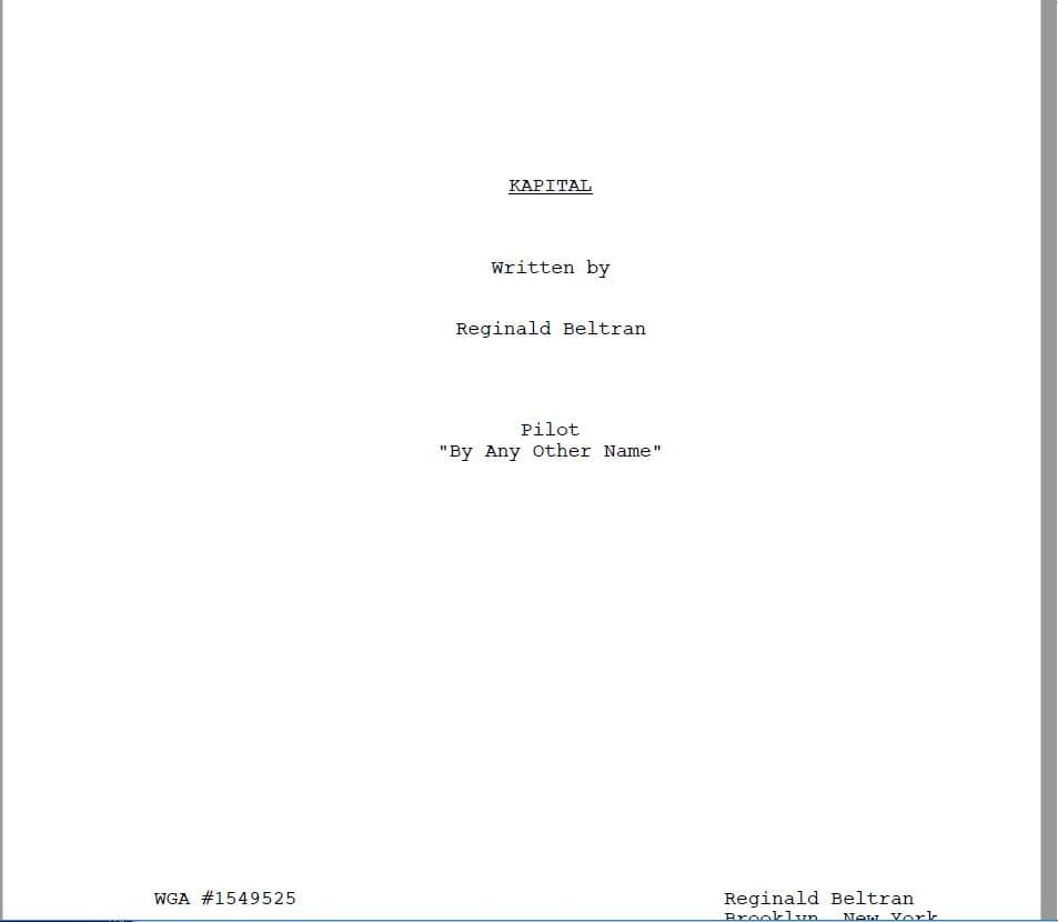 How to write a movie script: basic rules