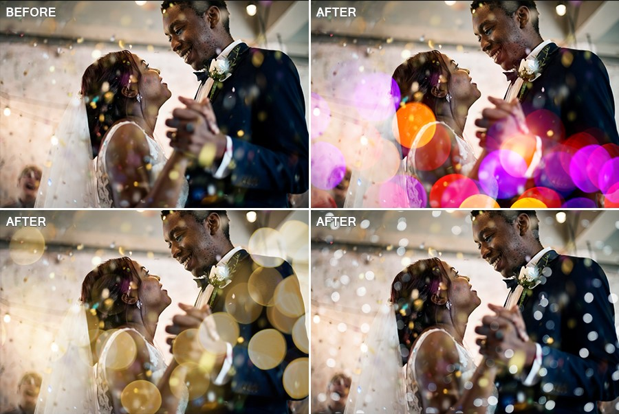 bokeh effect wedding photo.jpg