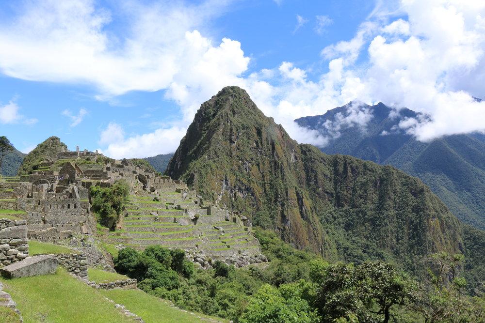 One of the 7 Wonders of the World:Machu Picchu.Photo:@lifebelowclouds