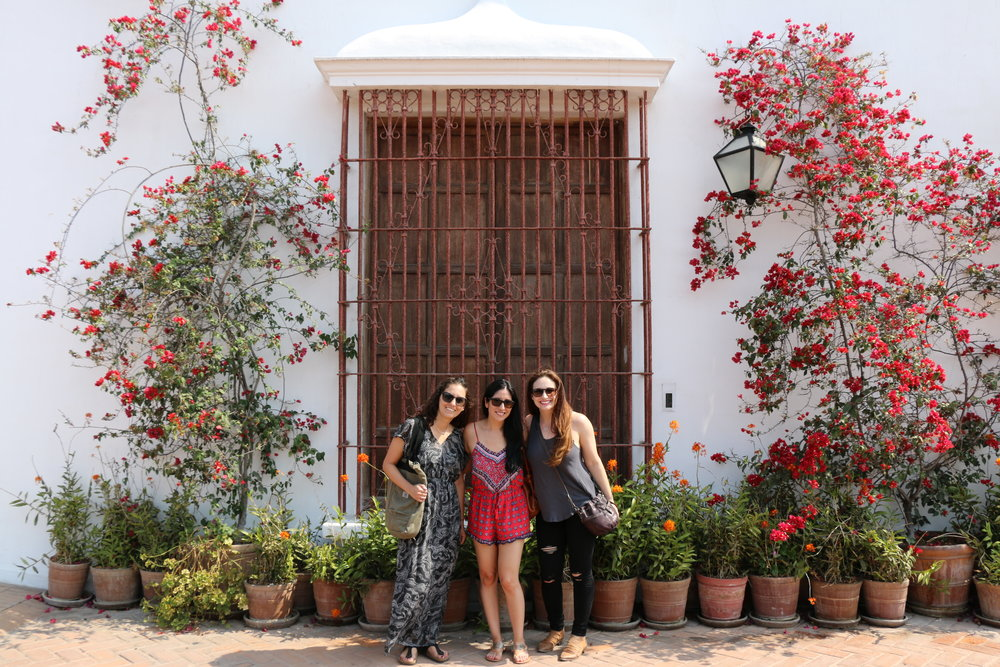 Outside of the Museo Larco. Photo: @lifebelowclouds