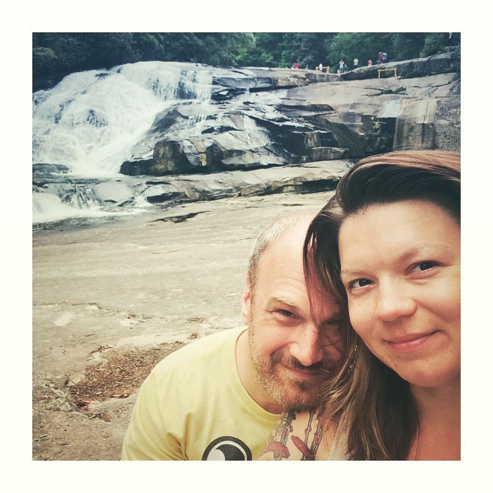 Hooker Falls near Brevard