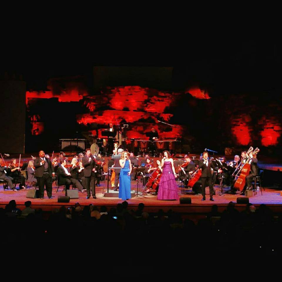 Vanacore's performance at the Ford Theater in October 2017 featured 2 sopranos and 3 tenors accompanied by a 38-piece orchestra of L.A.'s finest.