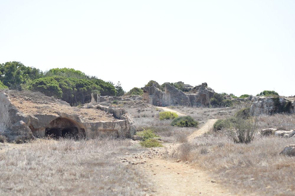 La tumba de los Reyes, situado a unos 2km de Paphos, ¡no te lo pierdas!