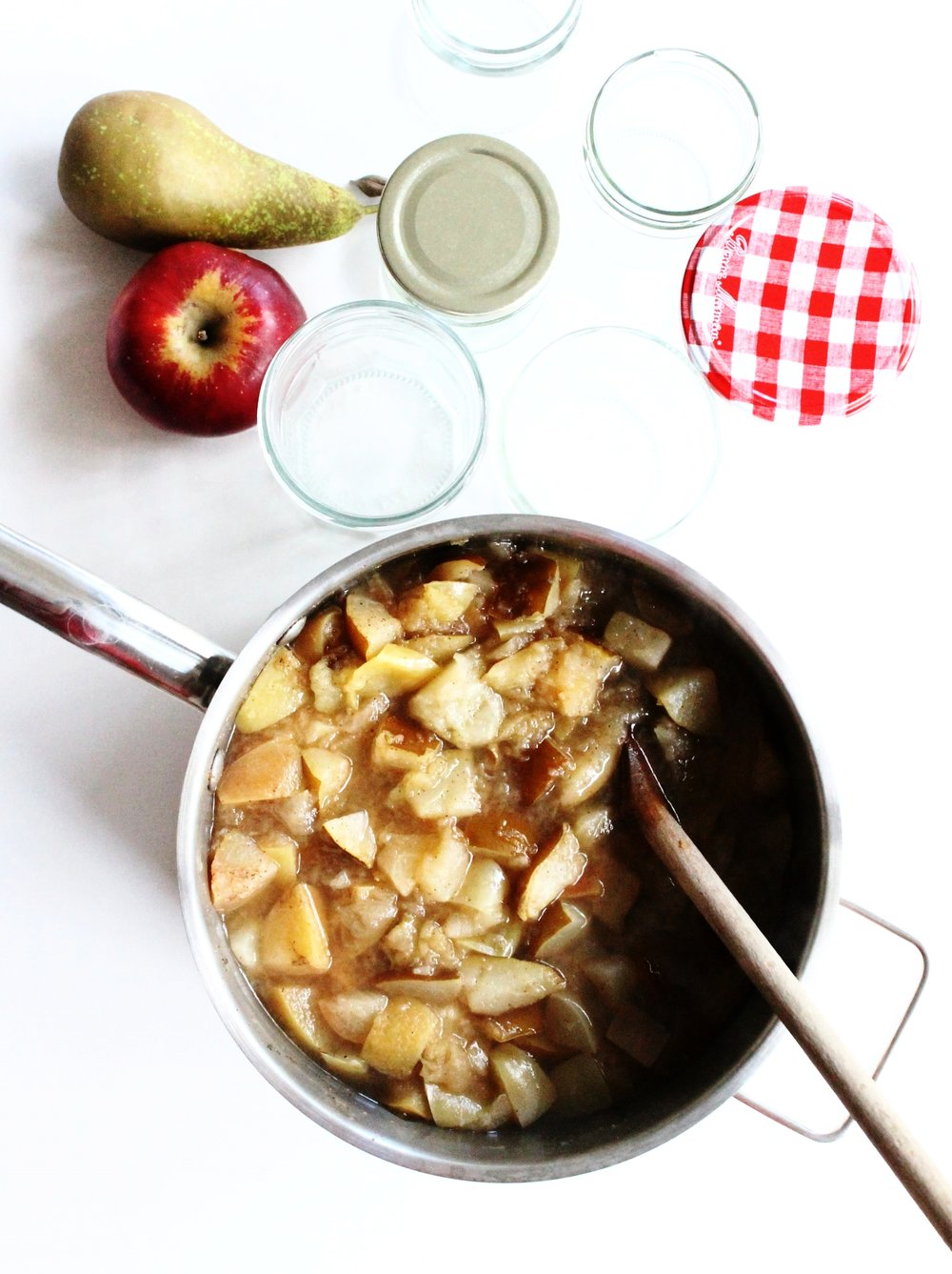 Pear and apple sauce | Beloved Kitchen