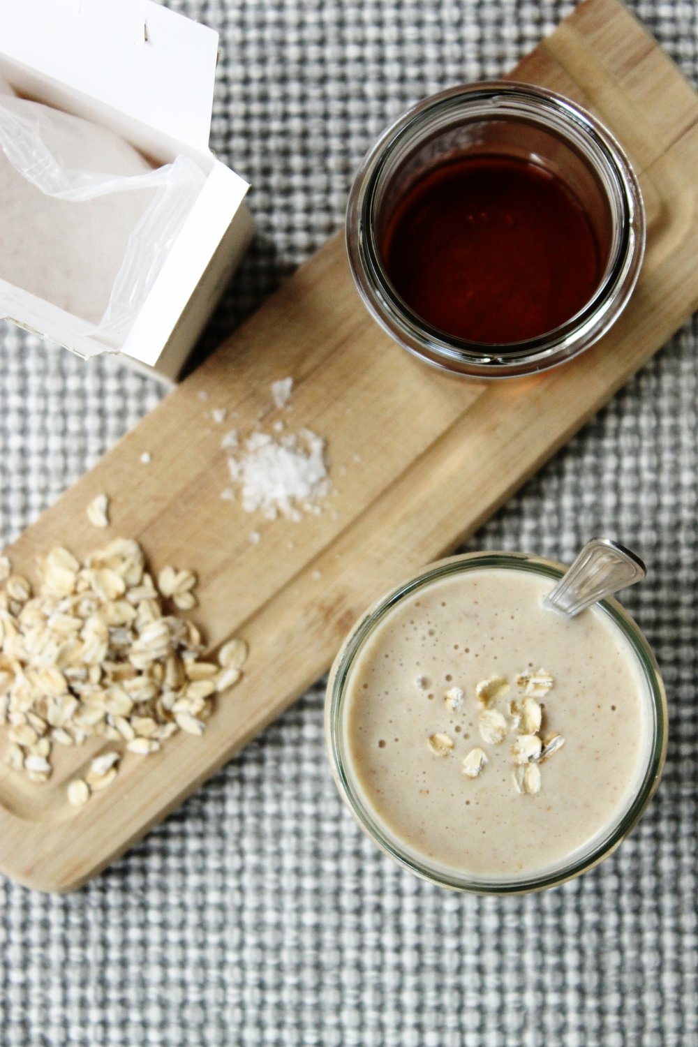 Almond, coconut and oat smoothie | Beloved Kitchen
