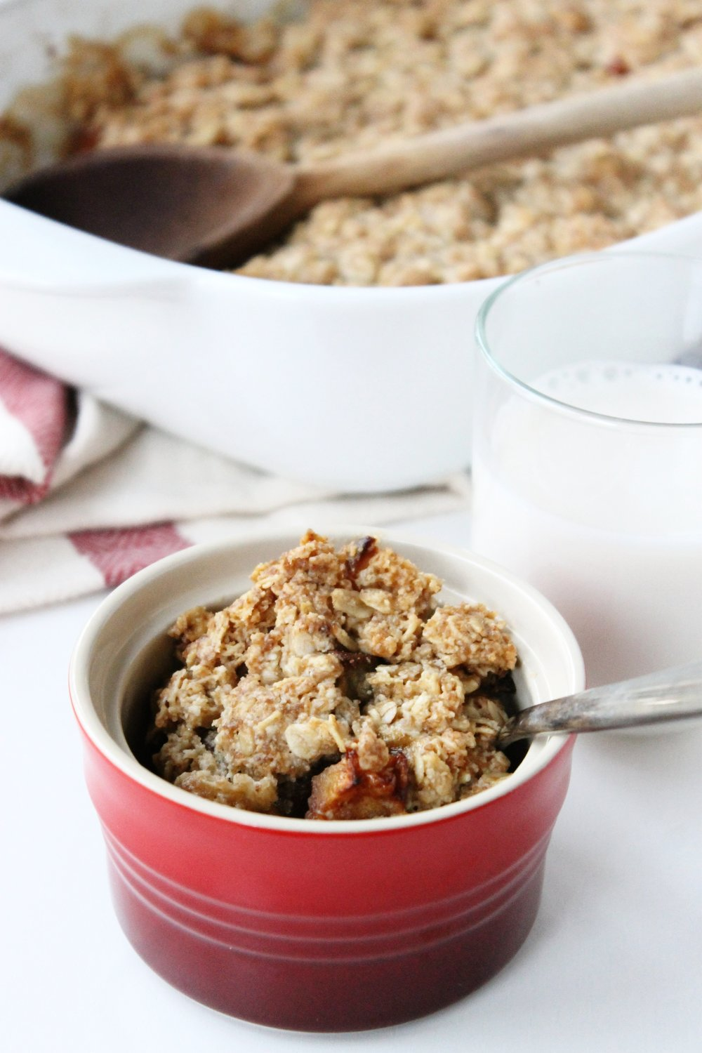 Gluten free pear and apple crumble | Beloved Kitchen