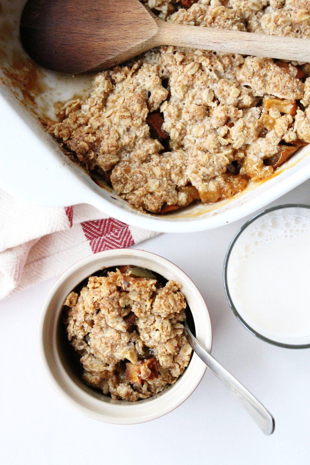 Gluten free pear and apple granola | Beloved Kitchen