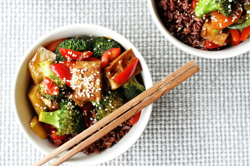 Vegetable tofu stir fry | Beloved Kitchen
