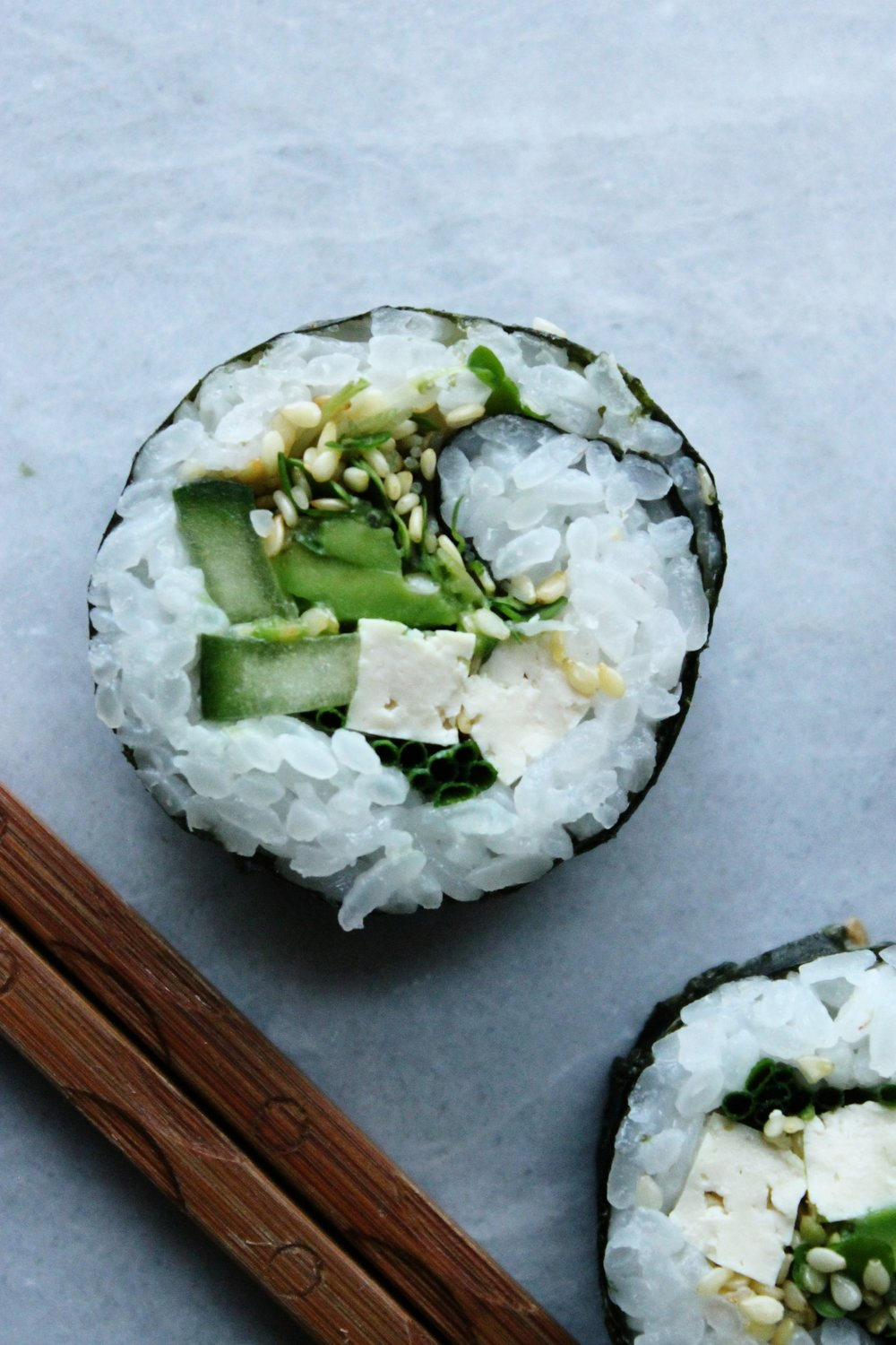 Vegan sushi | Beloved Kitchen