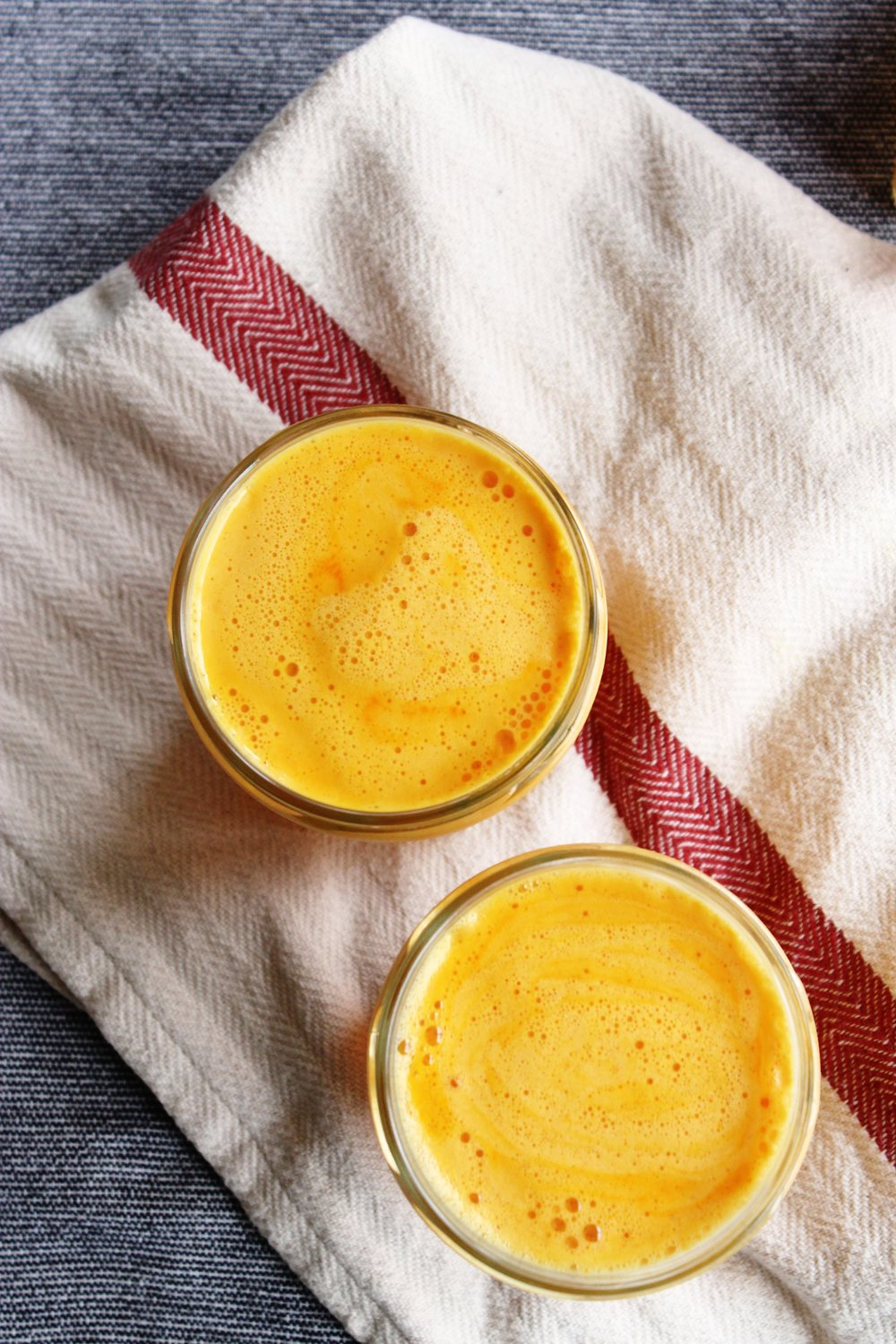 Uplifting orange and grapefruit juice with fresh turmeric and ginger | Beloved Kitchen