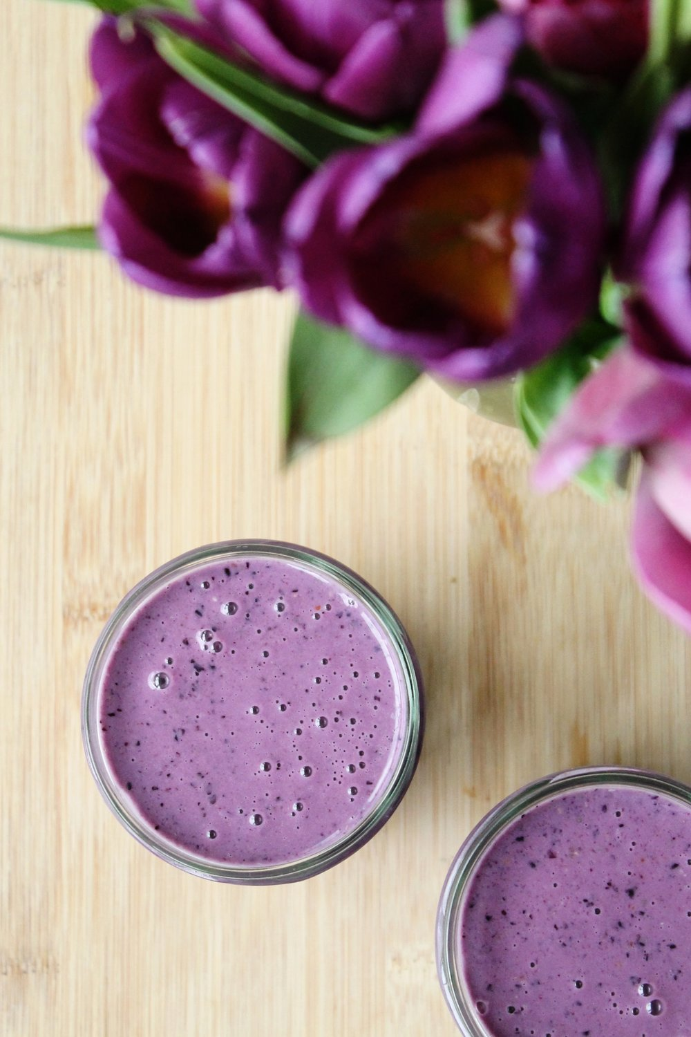 Peter's blueberry protein smoothie | Beloved Kitchen