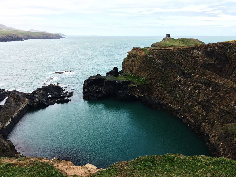 The Blue Lagoon in Abereiddy