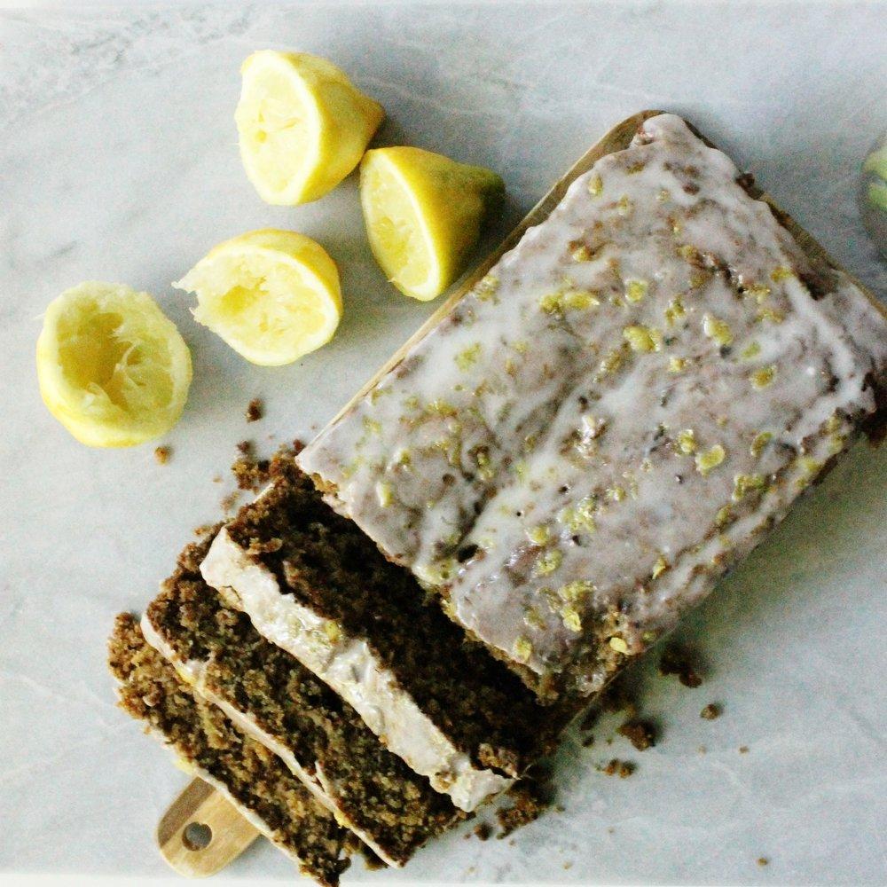 Vegan lemon blueberry loaf cake | Beloved Kitchen