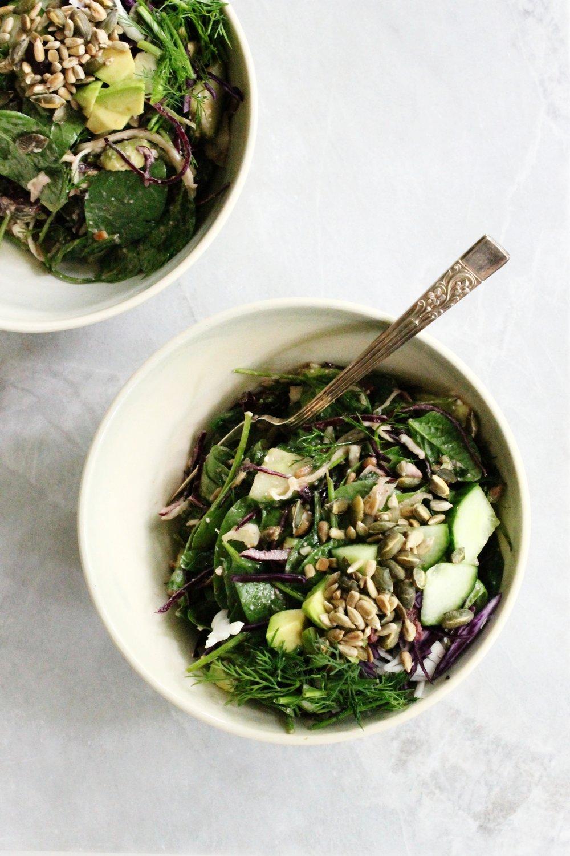 Julia's spring salad | Beloved Kitchen