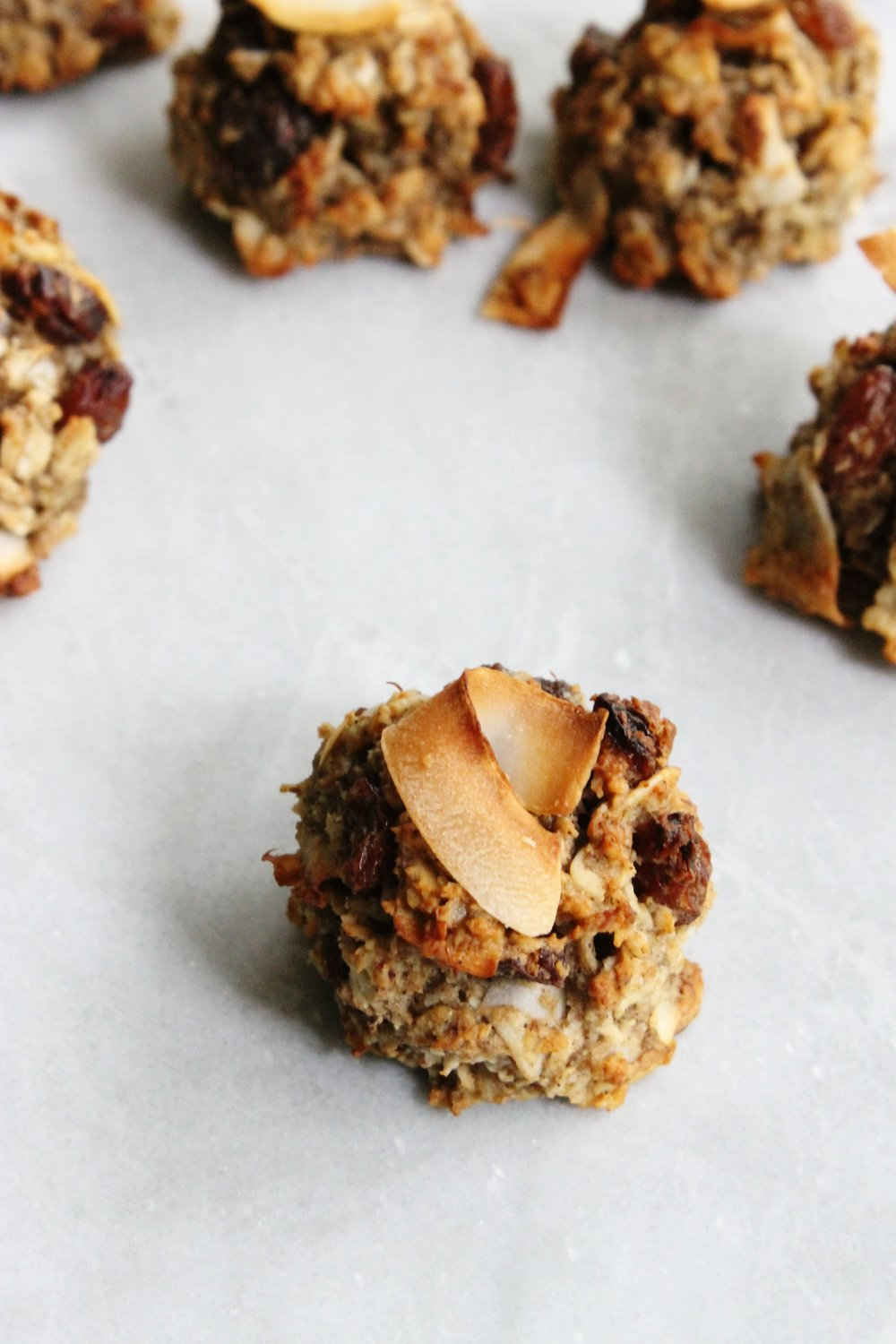 Healthy coconut-raisin cookies | Beloved Kitchen
