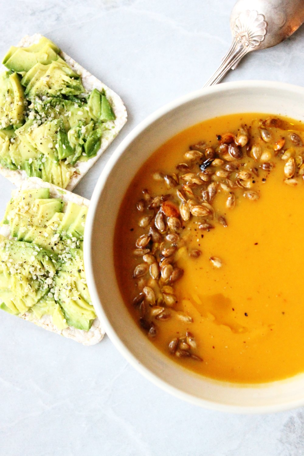 Pumpkin harissa soup | Beloved Kitchen