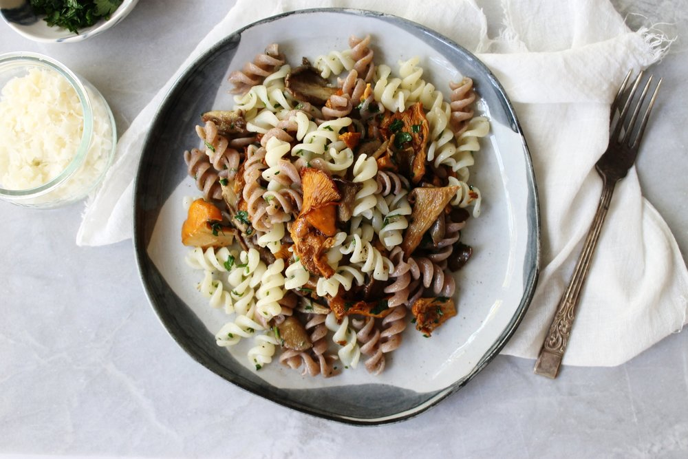 Wild mushroom and herb pasta | Beloved Kitchen