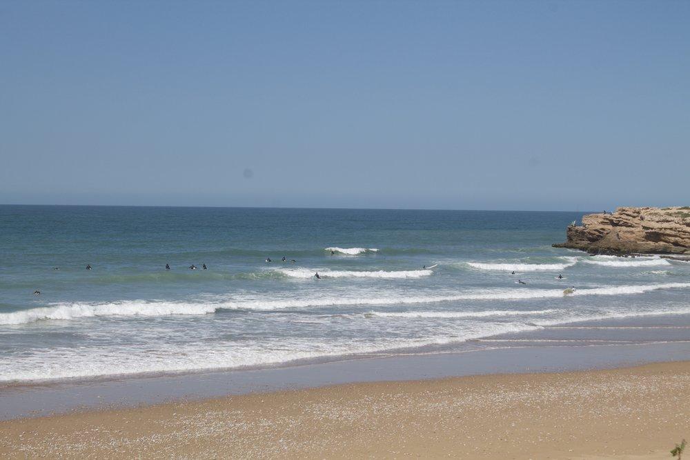 Devils rock - surf spot morocco