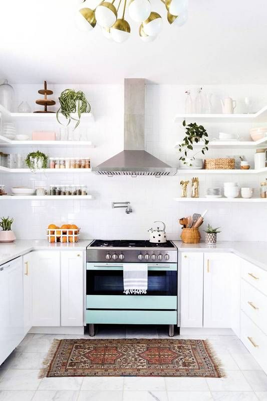 Another Great Advantage To Floating Shelves Is The Great Storage And  Accessibility That They Provide To Any Kitchen. You Can Easily Access Your  Kitchen ...