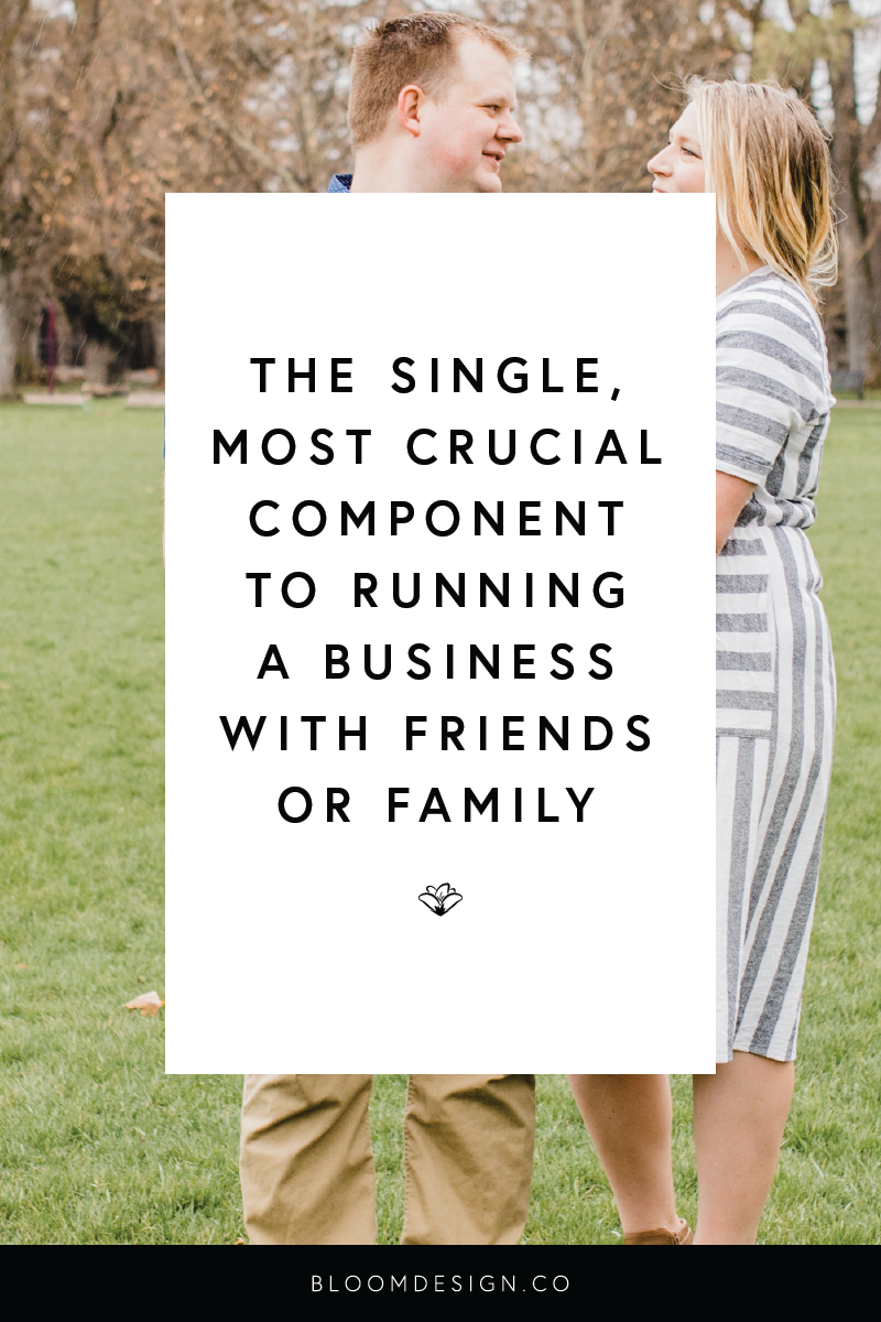 Despite the warnings to never go into business with friends or family, I've found a ton of value in morphing those existing relationships into business relationships. There is one crucial element that plays a huge role in the success of these relationships once they take that leap! #girlboss #womeninbusiness #stayathomemom #sahm #wahm #bossbabe #momboss #momtrepreneur #creativesidehustle #respect