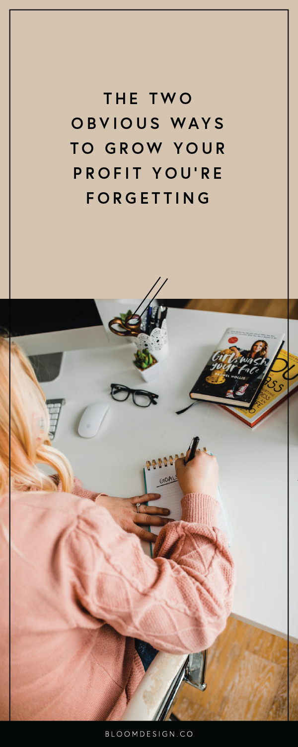 Feeling like your business isn't turning as high a profit as it should? Consider these two areas in which a few simple changes can yield significant results when it comes to the money you're able to bring home from your side hustle. #girlboss #momboss #virtualassistant #creativepreneur #sahm #wahm #workathomemom #sidehustle #smallbusiness #momtrepreneur #etsy #etsyseller #etsyshop #bossbabe