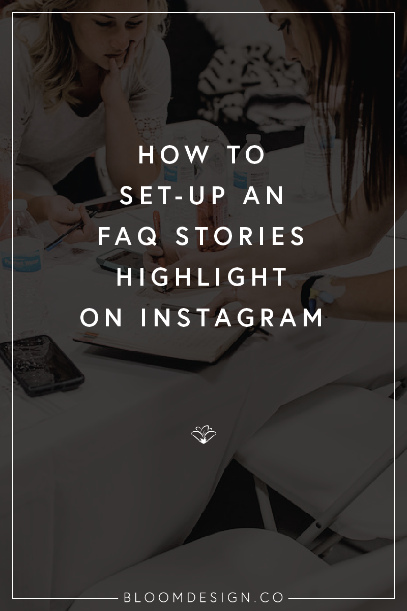 How to Set-Up Frequently Asked Questions on Your Instagram