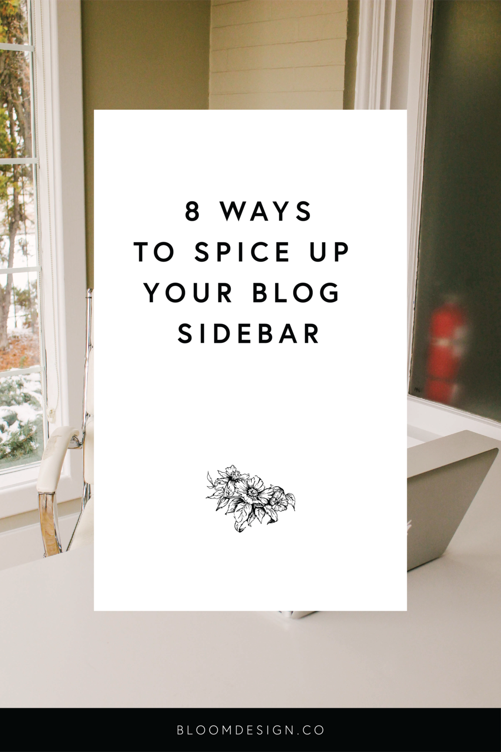 Eight Ways to Spice Up Your Blog Sidebar | Getting new traffic to your website is great, but how can you hold their interest and keep them there for longer? Including links in your blog sidebar and further suggested reading will help users stay engaged and on your website. #blogsidebar #squarespacetips #websitedesign #blogging #onlinemarketing