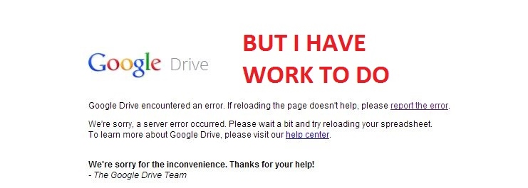 Google Drive is down