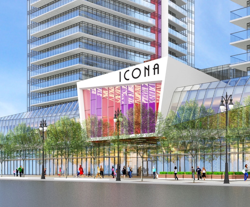 Icona Condos - Vaughan • The Gupta Group and Easton's GroupIcona Condos in Edgeley neighbourhood consisting of a two residential towers 53 & 51 storeys with approximately 1,140 mixed condo units. Icona Condos will be Vaughan's tallest towers the base of which will include 20,000 square feet of retail areas.