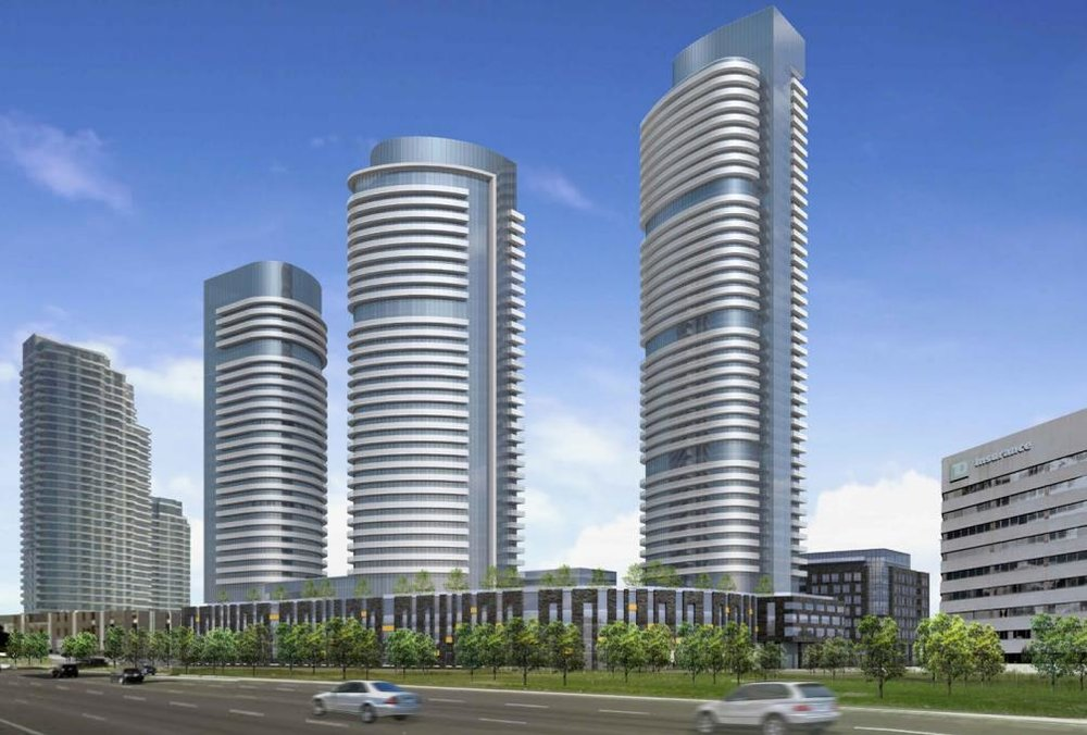 Valhalla Town Square - Etobicoke • Edilcan Development CorporationValhalla Town Square is a major mixed-use development by Edilcan at 2 Gibbs Road in Etobicoke containing office, retail, condos, townhomes, and rental residential surrounding a green town square.