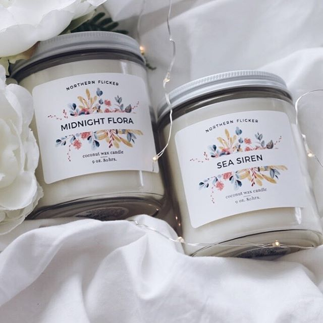 Our new website is live and all coconut wax candles are now available! Click the link in our profile to check it out and keep your eyes peeled this week for an exclusive instagram giveaway! 💕