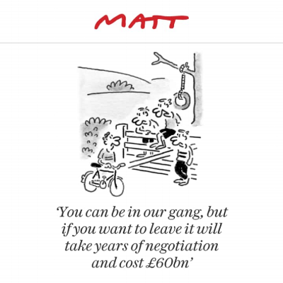 Matt 21st February - The Telegraph