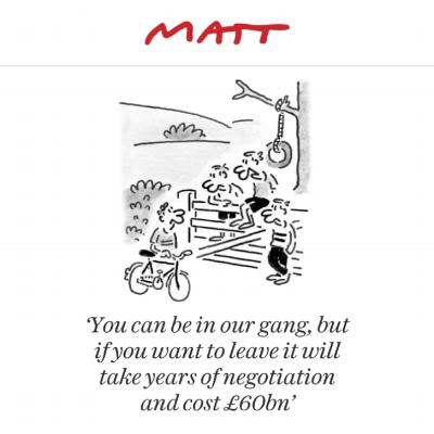 Matt 21st February - The Telegraph