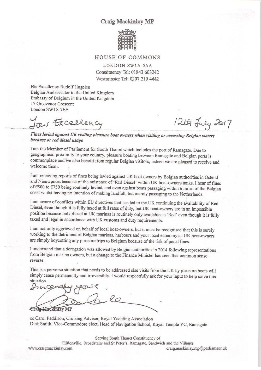 Craig's letter of 12 July17 to Belgian Ambassador.jpg