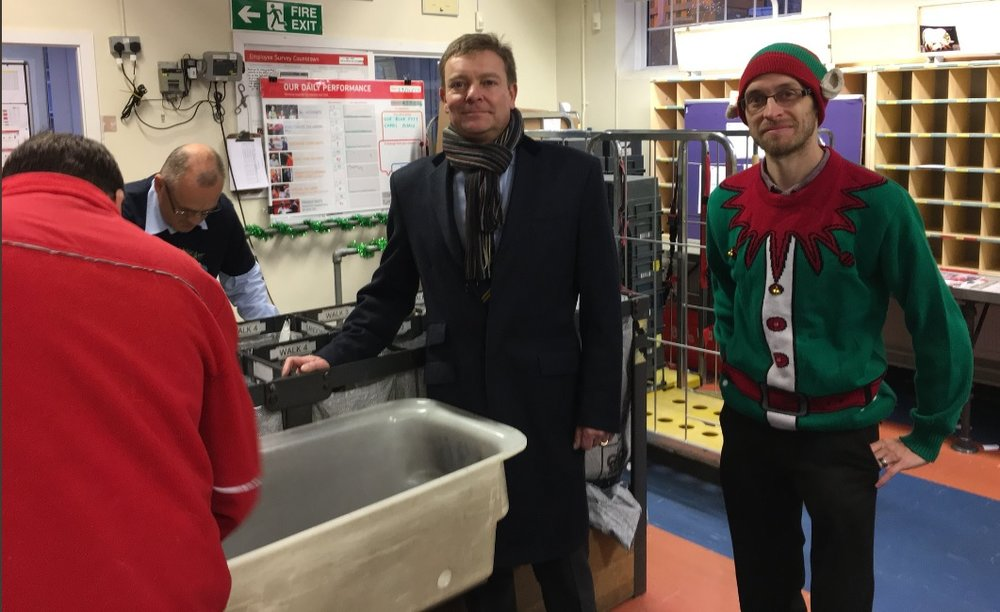 CM at the Royal Mail's Sandwich Delivery Office Dec17.jpg
