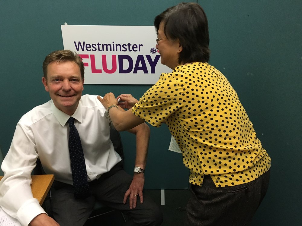 CM at Westminster Flu Day Oct17.jpg