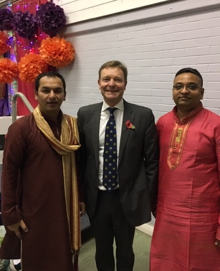CM at Diwali Special Festival in Newington Community Centre Nov18.jpg