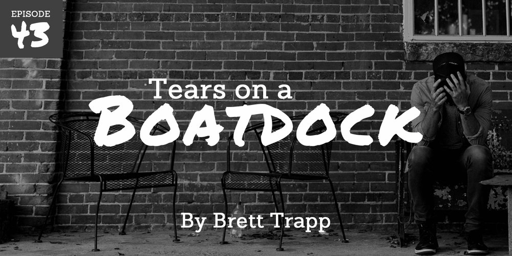 """I sprinted down that path, through the trees, all the way out to the boat dock—heaving, shaking, and sobbing as I ran. I felt like I might choke, fighting for breath. My face poured wet salt onto the summer grass below..."""