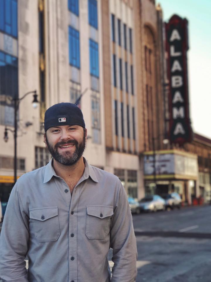 Spent a little time in downtown Birmingham near the historic Alabama Theater.