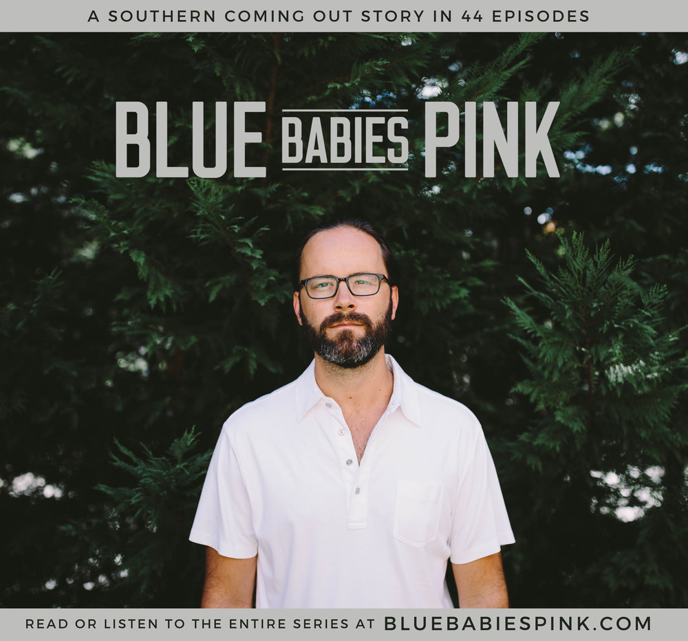 "Check out Blue Babies Pink by @bretttrapp, ""A Southern Coming Out Story in 44 Episodes."" http://bluebabiespink.com #bluebabiespink"
