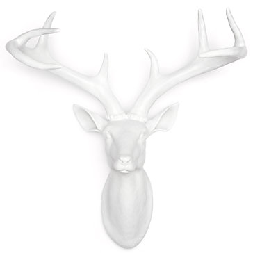 ZGallerie White Deer Head.jpg