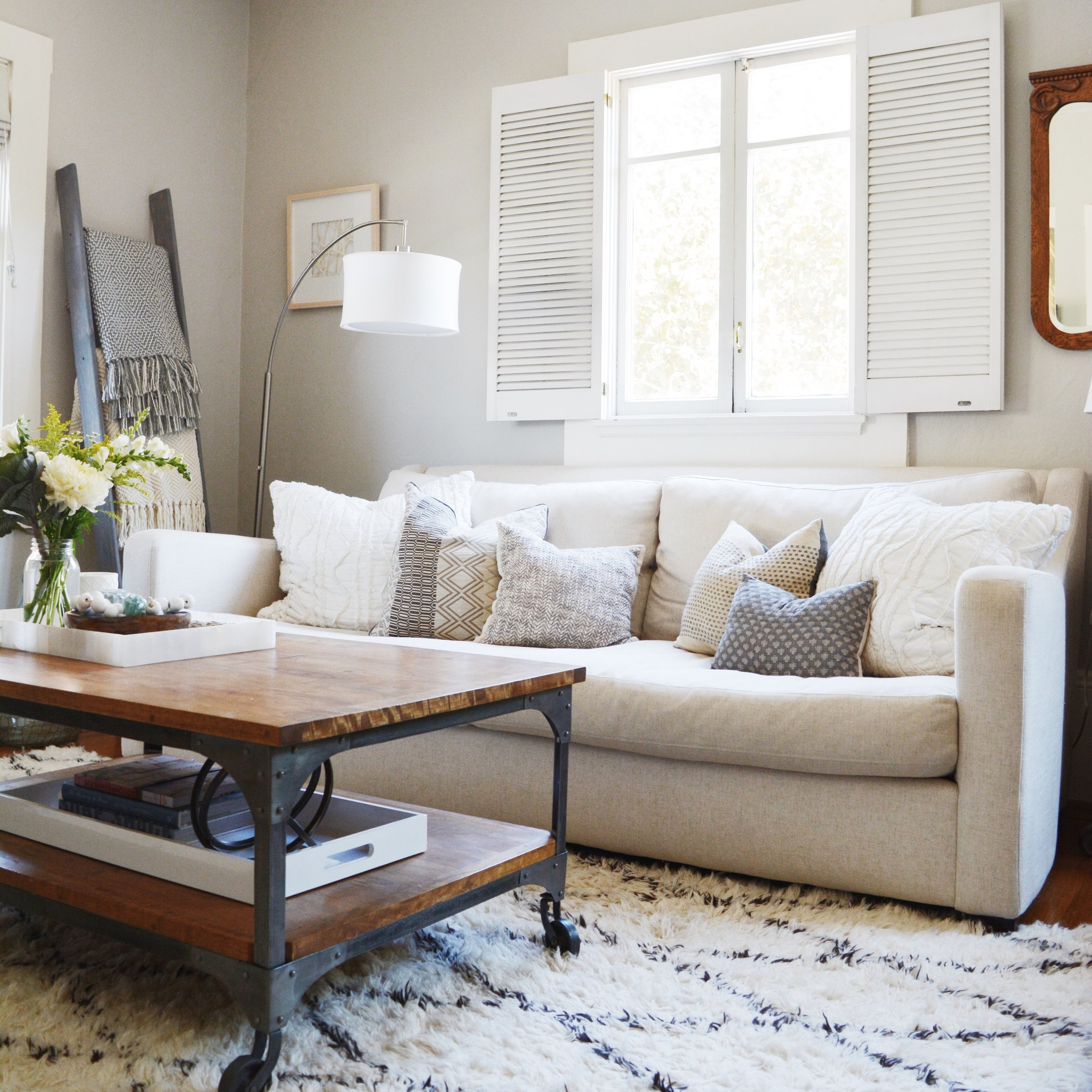 filbert living room design — a west nest